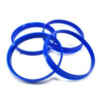 Buy cheap Light Weight Hub Centric Spacer Rings Blue Color For Eliminating Wheel Vibrations from wholesalers