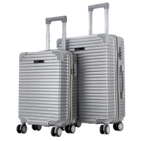 Buy cheap Traveling Bags Built-in wheels Newly designed ABS Luggage Set from wholesalers