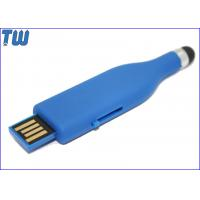 Buy cheap Rubber Oil Finished 8GB USB Memory Stick Slip UDP Chip Soft Touch from wholesalers