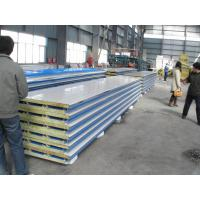 Buy cheap Corrosion Resistance Insulated  Steel Prefab House , Mineral Wool Sandwich Panel from wholesalers