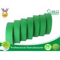 Buy cheap Green Crepe Paper Easy Release Painters Color Masking Tape 60 Yds Length X 1 Width from wholesalers