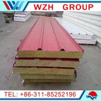 Buy cheap mineral wool sandwich panel /rockwool sandwich panel /sandwich panel price made in China from wholesalers