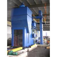 Buy cheap Industrial Steel shot blasting equipment for blasting of H beams , Angles and flat from wholesalers