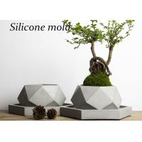Buy cheap V001 Creative polygon vase concrete planter mold handmade craft home decoration geometry cement flowerpot molds from Wholesalers