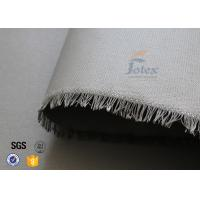 Buy cheap 0.45mm PU Coated Fiberglass Fabric Cloth For Welding Spatter Sparks Protection from wholesalers