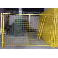 Buy cheap Garden private Canada temporary fence for construction 6ft *10 ft size product