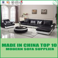 Buy cheap Modern Office Chair wood Living Room Furniture genuine  leather Sofa Bed from wholesalers