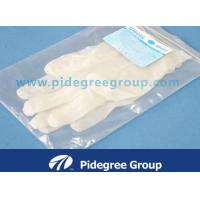 Buy cheap Double Dipped Oil Resistant Vinyl Exam Gloves , String Knit PVC Dot Work Gloves from wholesalers
