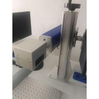 Buy cheap handtype Fiber Laser Marking Machines for Phone shell after the English alphabet mark from Wholesalers