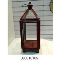 Buy cheap Farmhouse Tea Light Candle Lantern Large Rustic Manhatten Candle Lantern  for Garden from wholesalers