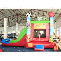 Buy cheap 0.55mm PVC Trapaulins Animals Sports Inflatable Bouncer Combo With 3 Years Warranty from wholesalers