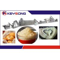 Buy cheap Twin Screw Extruded  Food Processing Machinery  for Panko Bread Crumb from wholesalers
