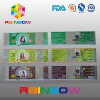 Buy cheap Custom Waterproof Printed PVC / PET Heat Shrink Sleeve Labels / Plastic Bottle Label from wholesalers