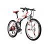Buy cheap Mountain Electric Bike With Shimano Derailleur , Battery Powered Mountain Bike from wholesalers
