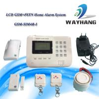 Buy cheap LCD GSM &PSTN Dual Network Home Security System House Alarm from wholesalers