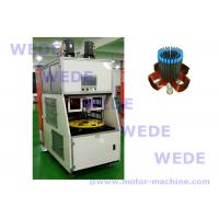 Buy cheap Full automatic 4 working station stator coil winding machine for electric motor from wholesalers