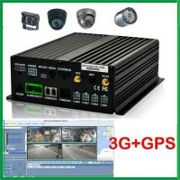 Buy cheap Mobile Digital Video Recorder Audio Vehicle MDVR 4ch cctv dvr kit from wholesalers