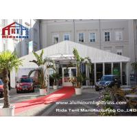 White Color Wedding Party Tent / Canopy Tent Fire Retardant  Anti - Mildew