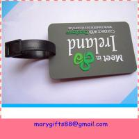 Buy cheap 2014 Custom plastic luggage tag from wholesalers