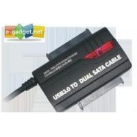 Buy cheap Superspeed USB3.0 to Dual SATA Adapter product