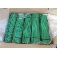 China Stainless Steel Green PVC Coated Wire , Vinyl Coated Steel Cable Rope on sale