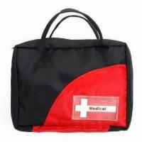 Buy cheap Promotional First-aid Kit, Made of Nylon/420D Oxford, Measures 19 x 16cm from wholesalers