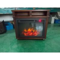 Buy cheap Electric Fireplace Heater EF461 Fireboxs 23 Stoves log burning Flame RC movable chimenea from wholesalers