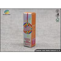 Buy cheap Modern Recyclable Lipstick Box Packaging / Custom Made Makeup Box from wholesalers