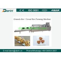 Buy cheap Full Automatic Granola Bar Machine , Cereal Bar / Cereal Bar Making Machine from wholesalers