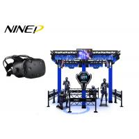 Buy cheap 4 Players Standing Virtual Reality Game Simulator For Park 12 Months Warranty product