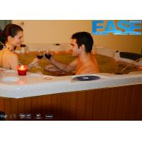 Buy cheap Luxury massage outdoor spa hydro hot tub with 5'' color-changing LED lighting from wholesalers