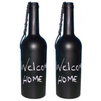 Buy cheap Hand Painted Glass Bottle Candle Holders from wholesalers