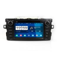 Buy cheap 2DIN HD android car dvd android 4.4.4 HD 1024*600 car DVD GPS for TOYOTA Auris with WiFi Mirror link from wholesalers