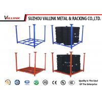 Buy cheap Foldable And Stackable Logistic Tire Storage Shelf Powder Coated 500kg Capacity from wholesalers