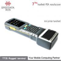 Buy cheap Laser Android Barcode Scanner , 4 Wire Resistive Touch Wireless Thermal Printer from wholesalers