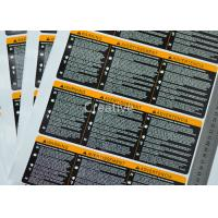 Buy cheap Waterproof Eco - Friendly Scratch Off Printable Sticker Labels PET / PVC / PE / from wholesalers