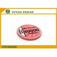 Vivid Pink Scroll Ceramic Poker Chips Heavy European Poker Chips