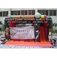 Buy cheap Hot sell funny children game PVC Tarpaulin inflatable bouncer  castle from wholesalers