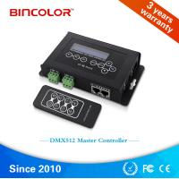 Buy cheap DMX Master Controller for dmx512 lighting led chase controller, DMX RGB pixel light led controller from wholesalers