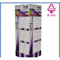 Buy cheap folding umbrellas cardboard display from wholesalers
