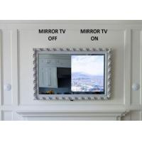 Buy cheap Rectangle Bathroom TV Magic Mirror / Smart Mirror TV With LED Light Clock from wholesalers