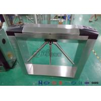Buy cheap Semi Automatic Vertical Tripod Turnstile , Turnstile Security Gates Stainless Steel Framework from wholesalers