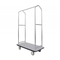 Buy cheap Sturdy Tubular Hotel Luggage Display Stand Extravagant luggage collection trolley from wholesalers
