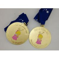 Buy cheap Customized Army Medals And Ribbons , Die Casting Zinc Alloy Karate Medals from wholesalers