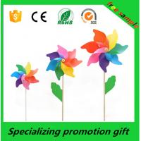 Buy cheap Beautiful Outdoor Essential Products , Kids Plastic Toy Windmills from wholesalers