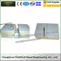 Buy cheap 100mm Walk in cooler PU insulated panels from wholesalers