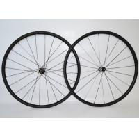Buy cheap T700 Tubular Carbon Fiber Bike Wheels High Speed Stability For Long Distance Riding from wholesalers