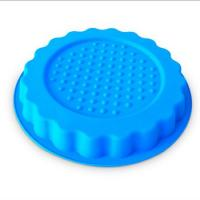 Buy cheap new design round shape silicone pizza  mold ,customized silicone pizza cake mold from wholesalers