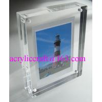 Buy cheap Transparent Perspex / PMMA / Acrylic Photo Frame With Magnet 5X7 from wholesalers