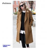 China Fashion Winter lady coat high quality smooth fabric winter warmer keep coats on sale